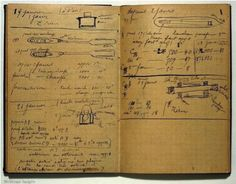 Marie Curie's notebook, still radioactive one hundred years later.