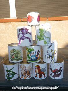 Anniversaire Pokemon (gâteaux en pâte à sucre)  http://lespetitsdelicesdunemamanpressee.com/anniversaire-pokemon-gateaux-en-pate-a-sucre/