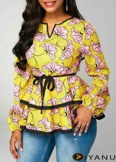 Find Best latest african fashion look 6379 African Fashion Ankara, Latest African Fashion Dresses, African Print Fashion, Africa Fashion, Indian Fashion, Korean Fashion, Short African Dresses, African Blouses, African Print Dresses