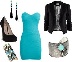 """""""A Night Out"""" by shandi-guthrie on Polyvore"""