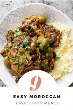 Get out your slow cookers and get ready for a delicious, Moroccan inspired fall season. These 9 Moroccan recipes will have your home filled with great aromas and your family begging for seconds. Click to get the recipes here!