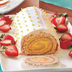 Make a Memorable (and Easy) Easter Dinner | Lemon Roulade | AllYou.com