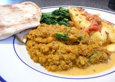 Curried Red Lentil Dahl