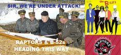 North Korea attacked by B-52s & Raptors hahaha!!