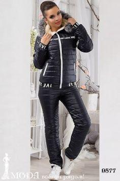 Лыжный костюм 9577 Лыжные костюмы и комбинезоны оптом по низким ценам Leather Pants, Sexy, Action, Sports, Leather Jogger Pants, Hs Sports, Group Action, Leather Joggers, Sport