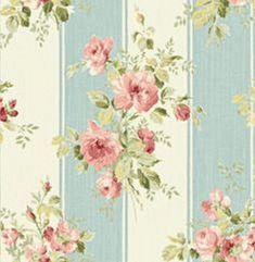 Details about Dollhouse Miniature Shabby Chic Wallpaper Pink Roses Blue Stripe Floral Puppenhaus Miniatur Shabby Chic Tapete Pink Roses Blue Stripe Floral Shabby Chic Background, Shabby Chic Wallpaper, Background Vintage, Paper Background, Cottage Wallpaper, Vintage Diy, Vintage Shabby Chic, Shabby Chic Decor, Vintage Paper