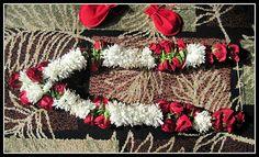 Indian wedding jasmine and rose garland