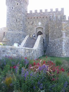 Castello di Amorosa Winery in Nappa Valley California- If in Nappa you must taste the wines. Napa Sonoma, Sonoma Valley, Places To Travel, Places To Visit, Napa Valley Wineries, Napa Winery, California Travel, California Wine, Viajes