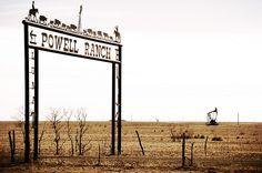 Powell Ranch Plains Texas West Oil Jack Cowboy Cutout DSC_9217x