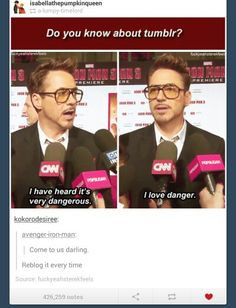 "I have a feeling if RDJ was on tumblr, it'd be the John Green ""fishingboatproceeds"" deal all over again...RDJ would just randomly pop up in all the discussions, and it would be epic."