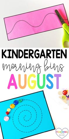 Are your mornings chaotic? Are you looking for engaging activities that your students can explore independently? By using Kindergarten August morning tubs, your students will be problem solving, working together, and thinking creatively. These August morning tubs are also open ended so your students will have a different experience each time they choose one! Come transform your mornings from chaos to calm! Primary Education, Primary Classroom, Kindergarten Teachers, Elementary Teacher, Elementary Education, Classroom Ideas, Learning Activities, Teaching Ideas, Whole Brain Teaching