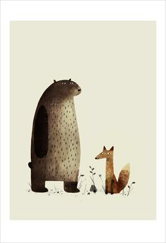 I Want My Hat Back by Jon Klassen  I think maybe my husband and I like this book more than my toddler, but it is super funny.  And the illustrations are TO DIE FOR.  I'm planning on buying a copy and ripping it to shreds to frame pieces of it in my son's lumberjack- and wilderness-themed bedroom.