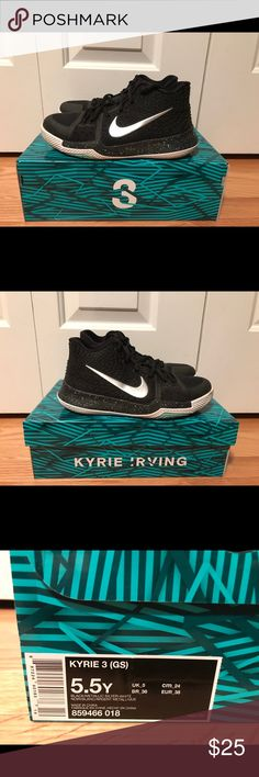 70fa74e7dc0e Kyrie 3 These Kyrie 3 s were used mostly for indoor basketball. Nike Shoes  Sneakers Indoor