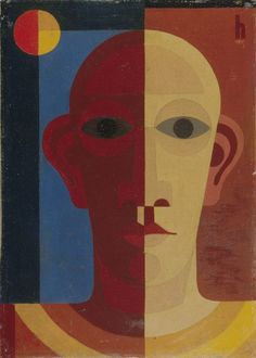 Heinrich Hoerle (German, 1895 - 1936) Self-portrait (Selbstbildnis),1931: