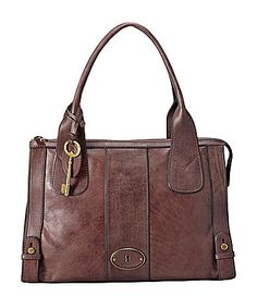 Fossil Vintage ReIssue Top Zip Satchel #Dillards