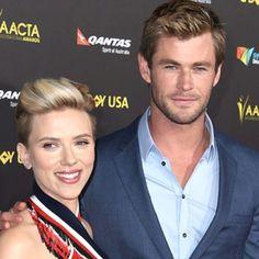 Talk about a sleeping beauty. Scarlett Johansson says Chris Hemsworth is as hot when he's catchin...