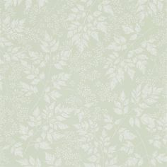 Sanderson The Potting Room Wallpaper - Spring Leaves, available to purchase online from F&P Interiors. Spring Leaves Wallpaper features overlapping leaves and floral sprigs branching across the design… Room Wallpaper, Fabric Wallpaper, Wallpaper Roll, Leaves Wallpaper, Wallpaper Designs For Walls, Paint Wallpaper, Green Wallpaper, Wallpaper Samples, Perfect Wallpaper