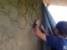 Kinstone Straw clay slip cabin