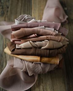 Silk And Willow, Dyed Silk, Silk Ribbon, Carrie, Earthy, Color Inspiration, Palette, Textiles, Branding