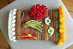 Crochet sleeve fidget