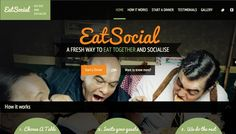 EatSocial - Eat together and socialise