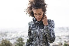 Don't let grey weather keep you in. Break through the clouds in our Cloud Breaker Jacket | Running Workout Jacket | lucy activewear