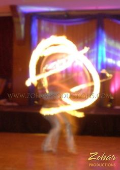 Fire Hula Hoop and other Arabian style entertainment booked through www.ZoharProductions.com  Contact: info@zoharproductions.com