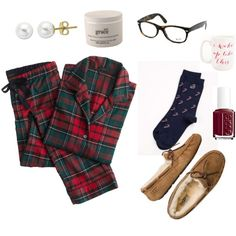 """""""Christmas Morning"""" by preppyperalgal on Polyvore"""