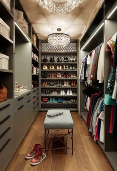 Organization Ideas dream closets For Your Dream Bedroom: Eclectic Walk-in Closets with a Persona that Dazzles! For Your Dream Bedroom: Eclectic Walk-in Closets with a Persona that Dazzles! Walk In Closet Design, Bedroom Closet Design, Master Bedroom Closet, Closet Designs, Dream Bedroom, Bedroom Closets, Bedrooms, Design Room, Pop Design