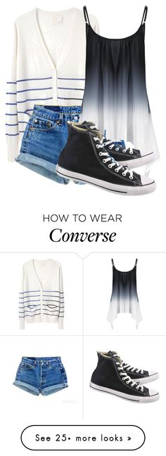 """Just because my path is different doesn't mean I'm lost"" by grace199617 on Polyvore featuring Band of Outsiders, Levi's and Converse"