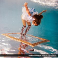 Alice in Waterland -   by Elena Kalis