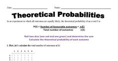 Theoretical Probability Grade 6 Math, Classroom, Names, Teaching, Pdf, Class Room, Education, Onderwijs, Learning