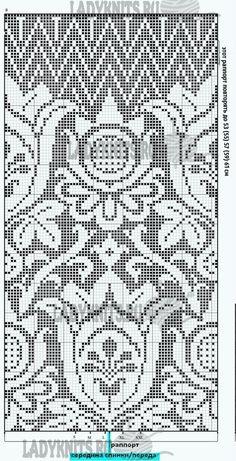 Вязание женской юбки годе. Описание для размеров от S до XXL