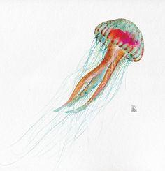 Jellyfish by Joana Santamans También en la tienda online http://www.verdejade.es/