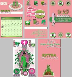 As requested... Alpha Kappa alpha sorority homepack. By Merit and By Culture. #greek #ivyleaf #1908 #HowardUniversity #alphakappaalpha #homepackbuzz #buzzlauncher