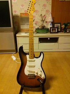 Fender Japan 57 Reissue Stratocaster | 8.6jt Fender Japan, Curves, Music Instruments, Guitar, Guitars, Musical Instruments, Baskets, Curvy Women