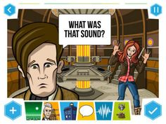 Make your own Doctor Who comics with the BBC's Tardis-like app for iPhone, iPad and Android