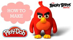 Play-Doh Making Cute Red in The Angry Birds Movie Rovio Entertainment