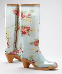 if ever I were to own rain boots!!!