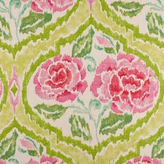 Multicolor Floral Canvas Fabric by the Yard | Mood Fabrics