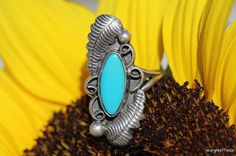 Vintage Signed Navajo 925 Sterling Silver & by Yourgreatfinds, $79.99