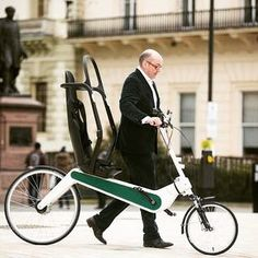 It claims to be the safest bike #ebike #electricmobility #electricscooter #PET #personalelectrictransport #electricbike