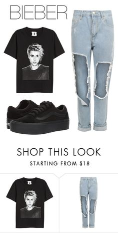 """""""BIEBER"""" by natalialima0502 on Polyvore featuring WearAll e Vans"""