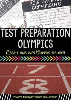 Test Prep Olympics change the game of test preparation! Get your students engaged and motivated to prepare for your state tests!