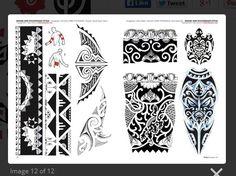 Tribal Maorí Y Polinesios - Tattoo Flash Dibujos - Tattoo Tribal Arm Tattoos, Body Art Tattoos, Tattoo Drawings, Sleeve Tattoos, Tatoos, Inca Tattoo, Samoan Tattoo, Tattoo Maori, Flash Drawing