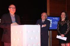 Outra foto registrando a palestra do Banco Caixa Geral Brasil na Exposição Vieira da Siva