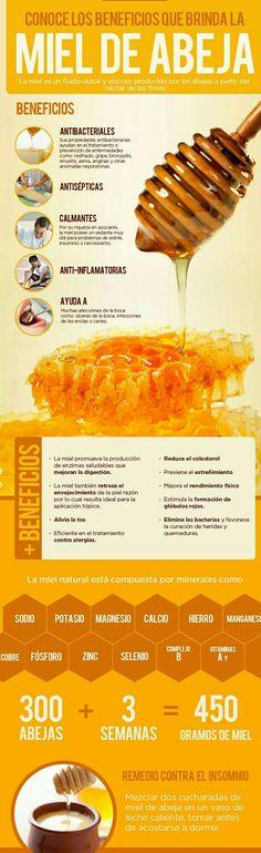 La #miel tiene #propiedades extraordinarias, si aún no las conoces, ¡aquí te damos doce!