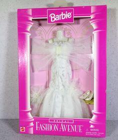 Barbie Doll Fashion Avenue 1996 Bridal Gown 3 | eBay