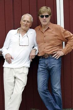 Photo of Paul Newman and Robert Redford. for fans of Paul Newman 33034804 Hollywood Icons, Hollywood Stars, Classic Hollywood, Paul Newman Robert Redford, Paul Newman Joanne Woodward, Sundance Kid, Kino Film, Actrices Hollywood, Iconic Movies
