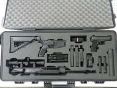 A Boyt case with custom foam for a Sig Sauer and Sig 716 … Custom Gun Cases. A Boyt case with custom foam for a Sig Sauer and Sig 716 … was published and added to our site. Weapon Storage, Gun Storage, Custom Glock, Custom Guns, Weapons Guns, Guns And Ammo, Zombie Weapons, Gun Cases, Military Guns